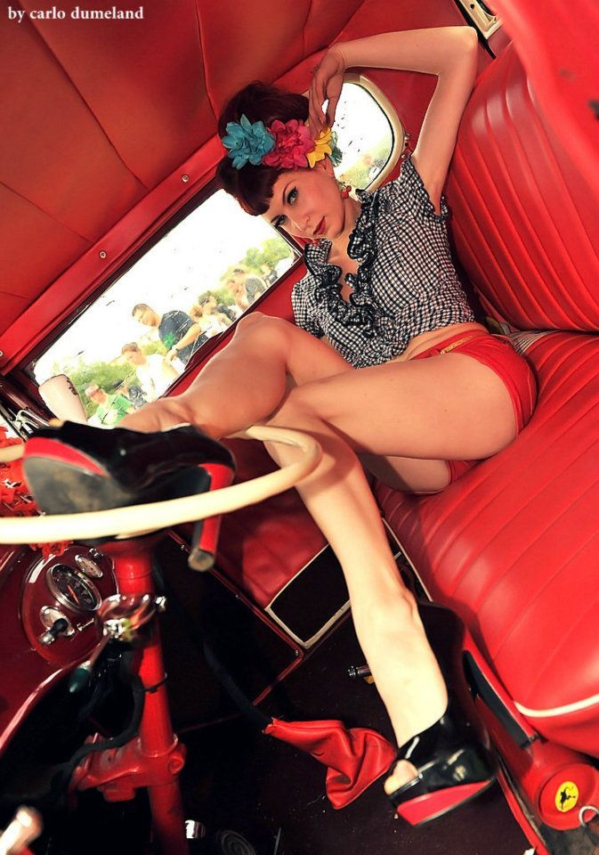 17 Best Images About Beautiful Women And Hotrods On