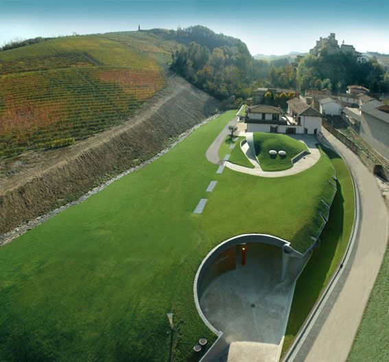 extension to Adelaide winery in Barolo - ampliamento della casina Adelaide a Barolo