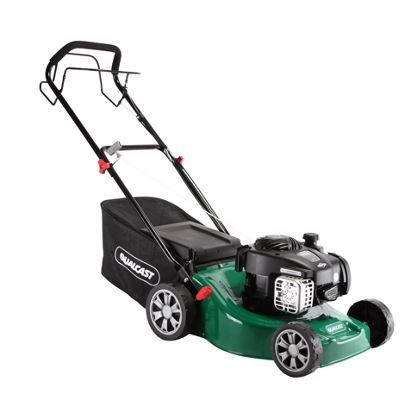 Qualcast 125cc Self-propelled Petrol Rotary Lawn Mower  175.00- 41cm
