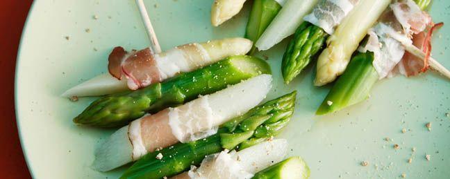 Brochettes d'asperges et de lard | Coop – C'est l'heure des grillades!