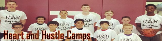 UPDATED: Heart and Hustle Basketball Camps Set for July 18-22 & Aug 8-12 for Ages 8-14   The Heart and Hustle basketball camp details have been set for the summer of 2016. The camp will focus on the importance of developing the whole player. The camp instructors will work hard on fundamental basketball skills as well as teaching about what it takes to be a top level basketball player. A unique camp experience is offered with coaches who play the game at the highest level possible in Canada…