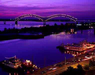 """""""M"""" River in Memphis, TN To see more beautiful pictures of Memphis, visit my Fan page at www.facebook.com/frommainetomemphis"""