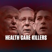 """Tell the Senate: Stop Trumpcare  The petition to the Senate reads: """"Block and resist Trumpcare and any other legislation that guts Medicare and Medicaid, defunds Planned Parenthood or takes health care away from sick people.""""Tell the Senate: Block and resist Trumpcare"""