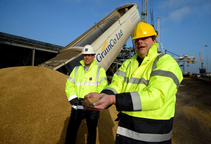 Port of Tyne handeled one of the largest shipments of grain to ever leave the UK for customer GrainCo Ltd