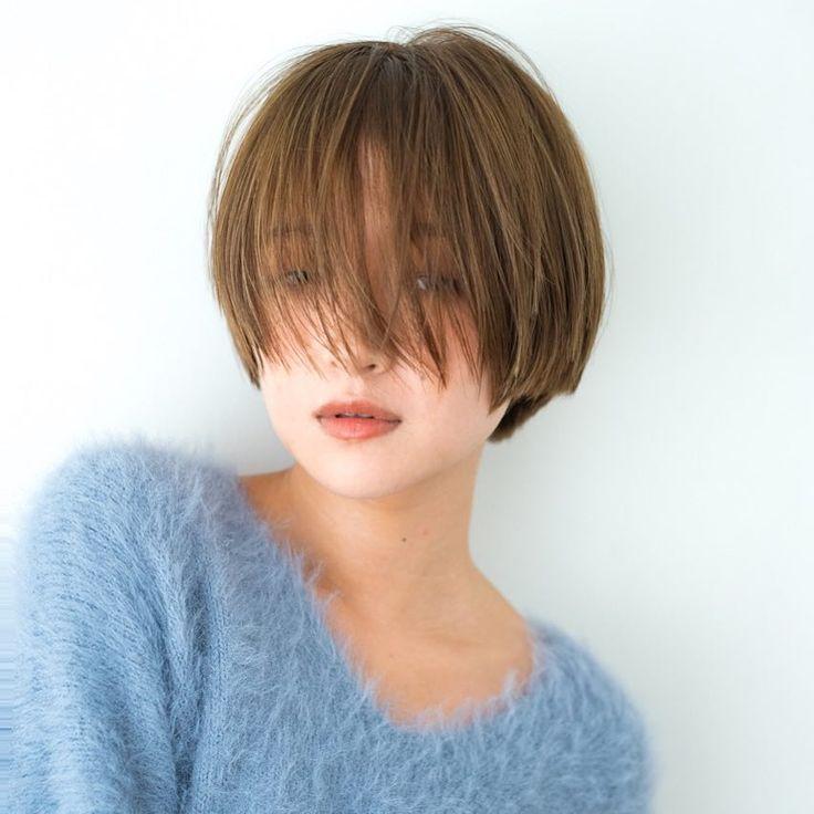 いいね!124件、コメント1件 ― Hikaru Haraさん(@guenco_hikaru)のInstagramアカウント: 「uzaバング? ・ ・ #うざバング #バング#ショートボブ#ショートヘア#ショートカット#撮影#作品撮り…」