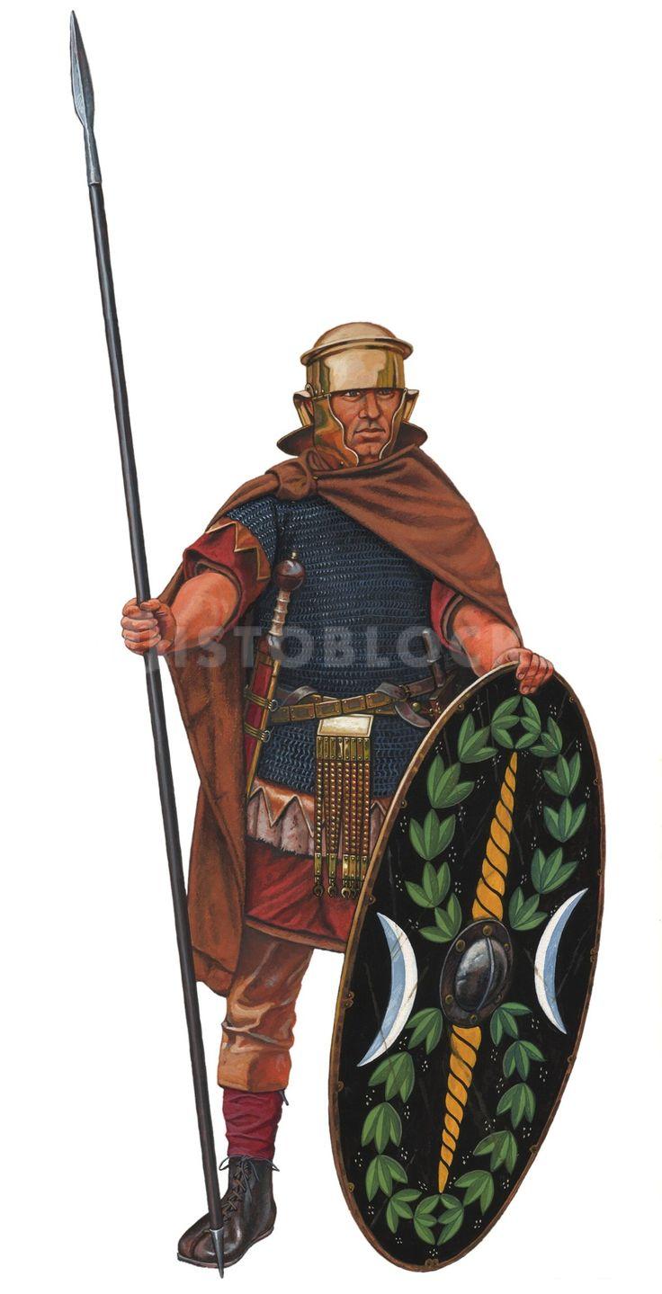 . Воин вспомогательных частей римской армии. Конец I века н.э.