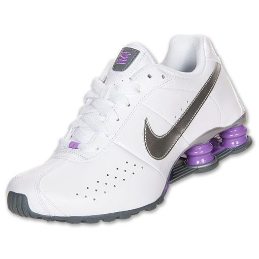 women's nike shox | Women?s Nike Shox Classic II SI Running Shoes | FinishLine.com | White ...