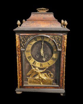 18th C Maronite Diocese Of Notre Dame Mantel Clock