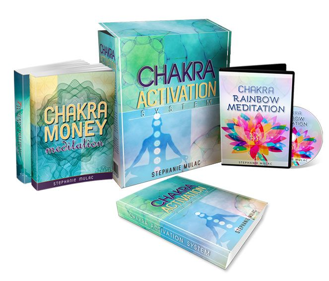 Chakra Activation System and the full review of Stephanie Mulac's chakra course.