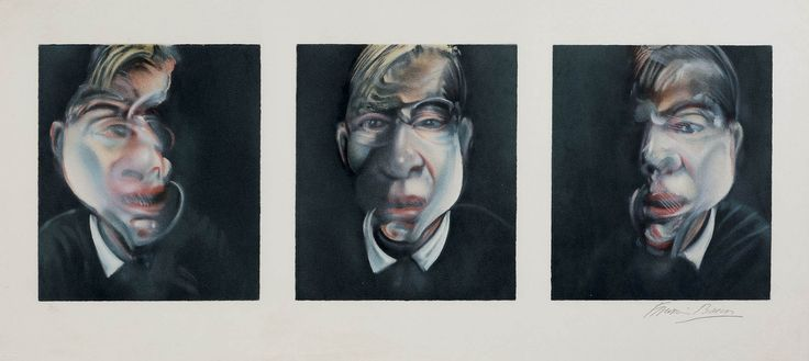 FRANCIS BACON prints sale 10th december three studies for a self-portrait