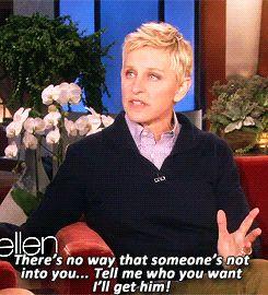 She'd make a great wingwoman. | Community Post: 17 Reasons Ellen DeGeneres Would Be The Best Friend Ever