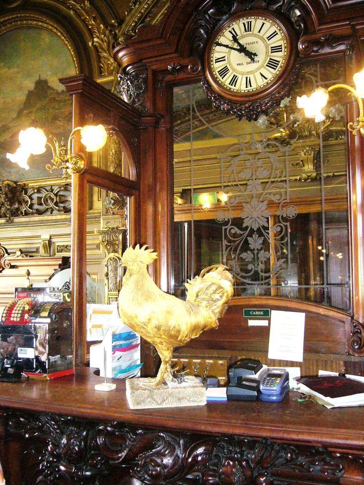 Paříž 2006. V kavárně na Gare Lyon.