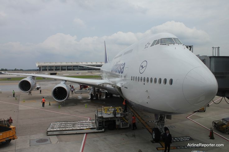 boeing 747 8 intercontinental | ... on the Inaugural Boeing 747-8 Intercontinental Flight With Lufthansa