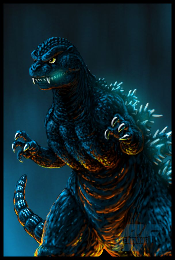 Godzilla 1984 by AlmightyRayzilla ((( the face is a tad too cute, but overall very nice!)))