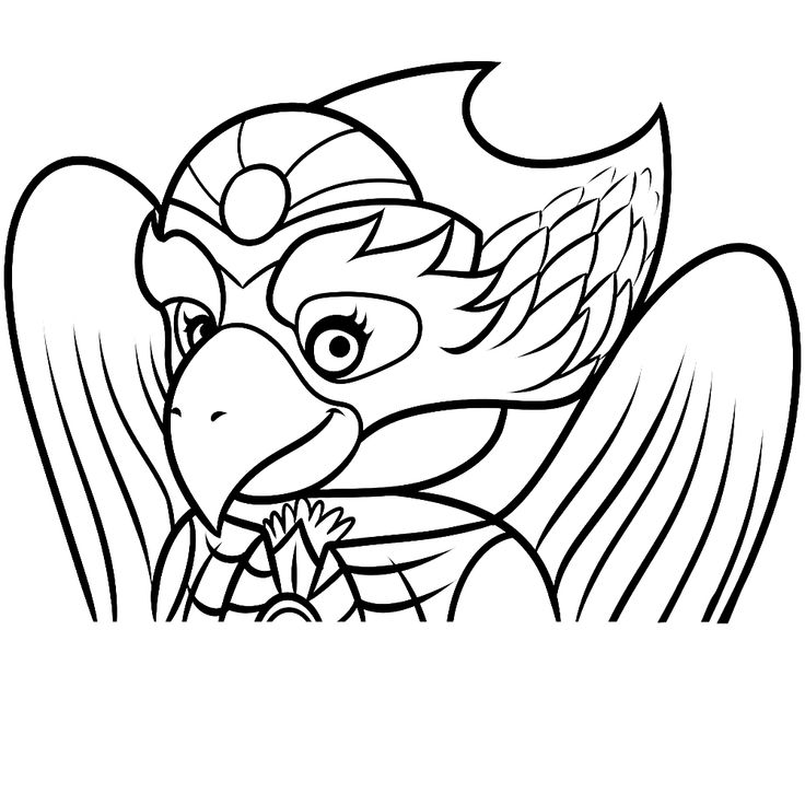 Ice chima coloring pages