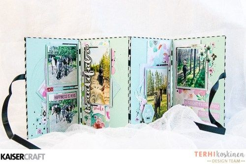Minibook by Terhi Koskinen - Kaisercraft Official Blog