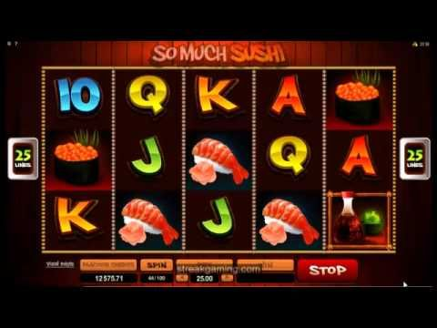 So Much Sushi Video Slot Review At Go Wild Casino (Microgaming)