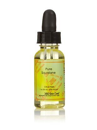 360 Skin Care Pure Squalane Oil, Citrus Fresh, 1 oz.