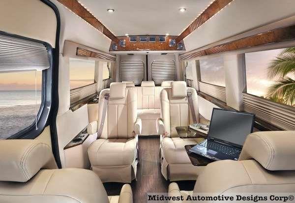 Sprinter conversion van 600 413 conversion van for Mercedes benz sprinter custom interiors
