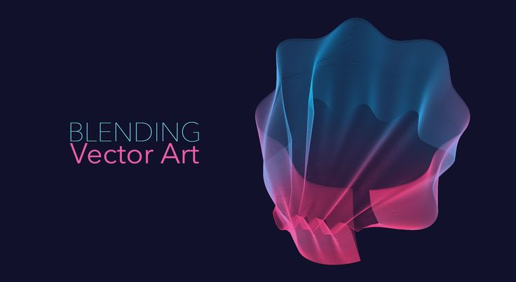 Blending Vector Art - Adobe Illustrator/Photoshop - YouTube