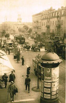 Warszawa, ulica Marszałkowska, 1928 rok. https://www.facebook.com/1725