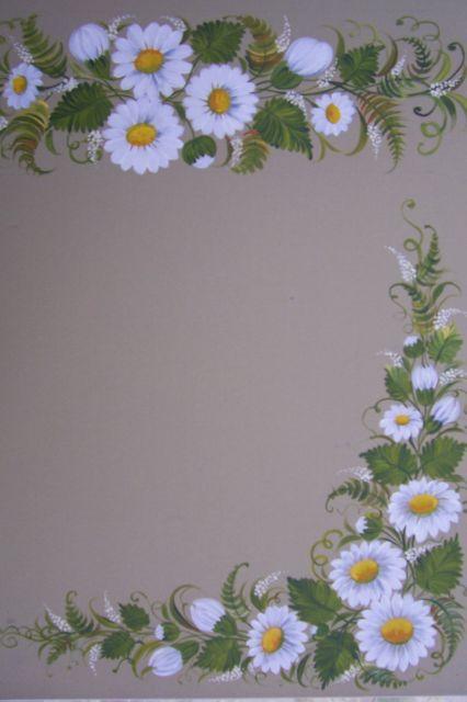 Lesson decorative painting.