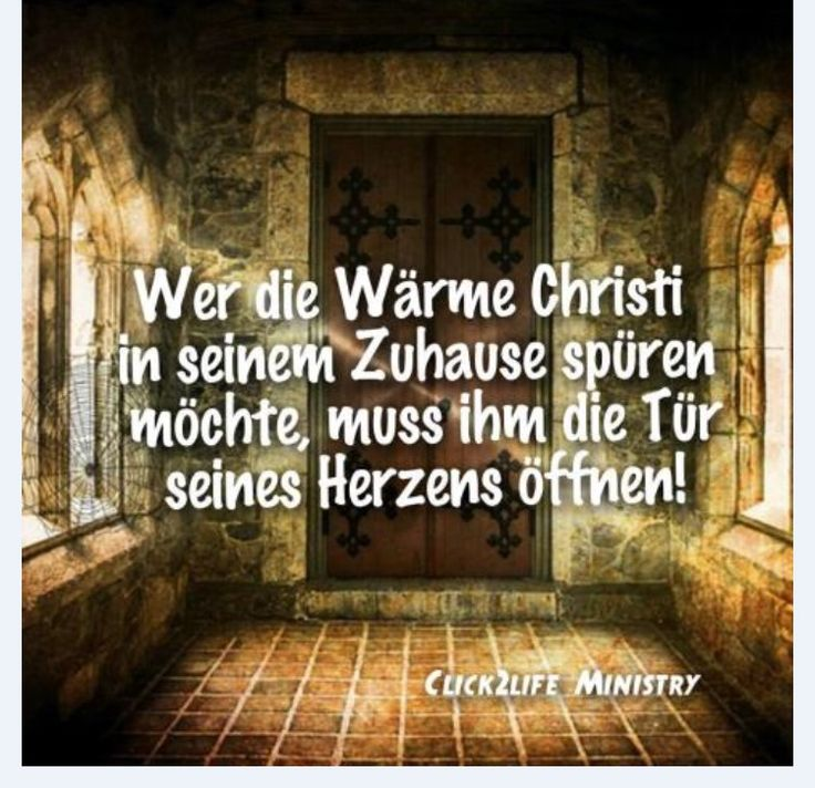 #Wer - Die - Wärme - vom - Herr -Jesus - Christus - spüren - will - muss - ihm - die - Tür - zu - seinem - eigenen - Herzen - öffnen . (- Und - zu - dem - eigenen - Leben - Lebensbereiche.)