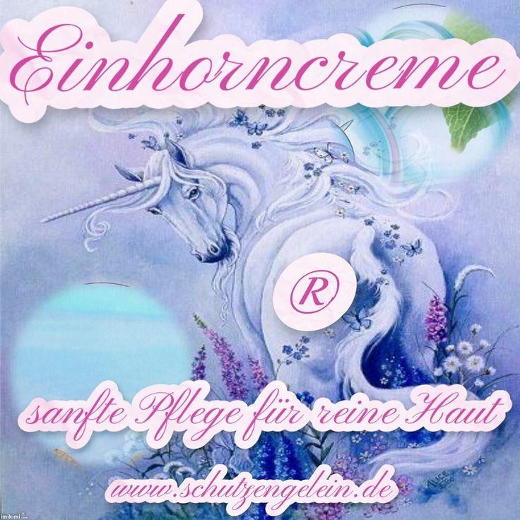 Einhorncreme®, Tagescreme parfumfrei ohne Konservierungsstoffe, keine Tierversuche, sensitive skin