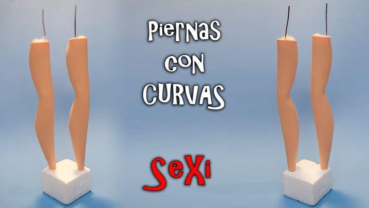 PIERNAS CON CURVAS PARA FOFUCHAS - GOMA EVA