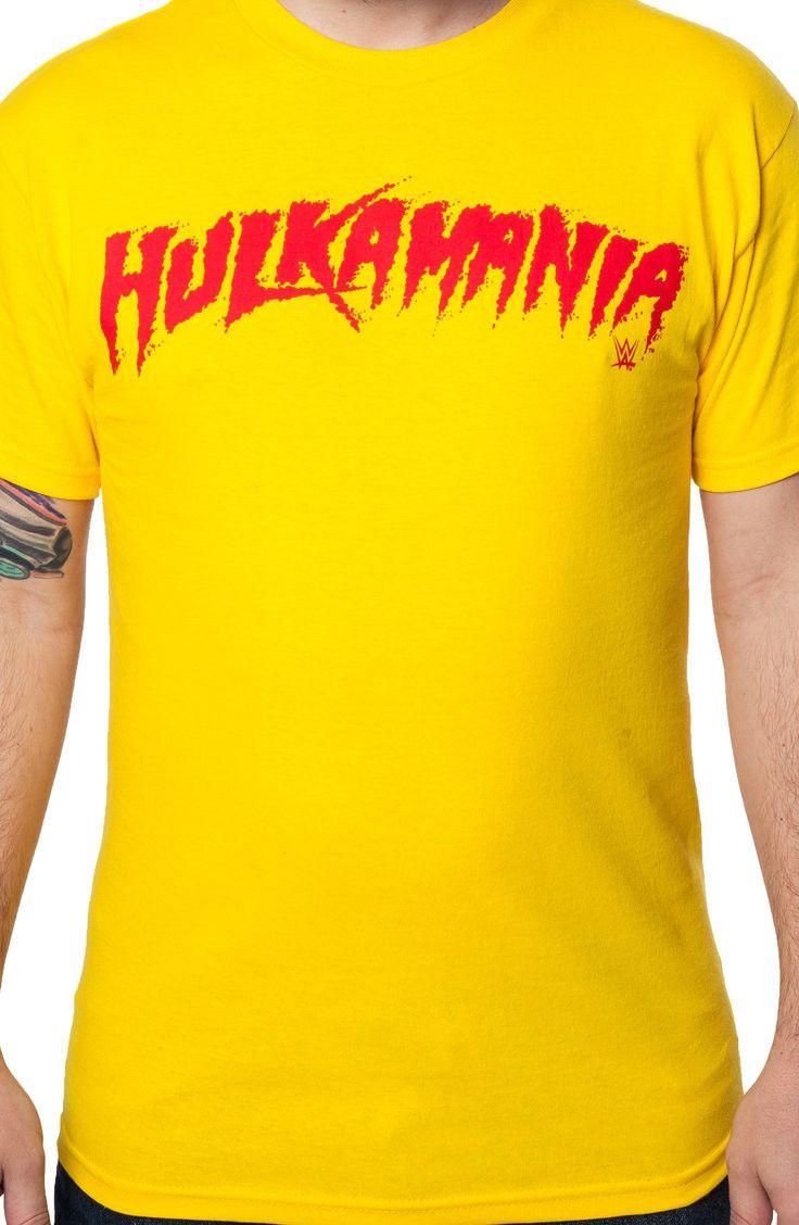 Hulk Hogan Hulkamania T-Shirt: 80s Wrestling Shirts