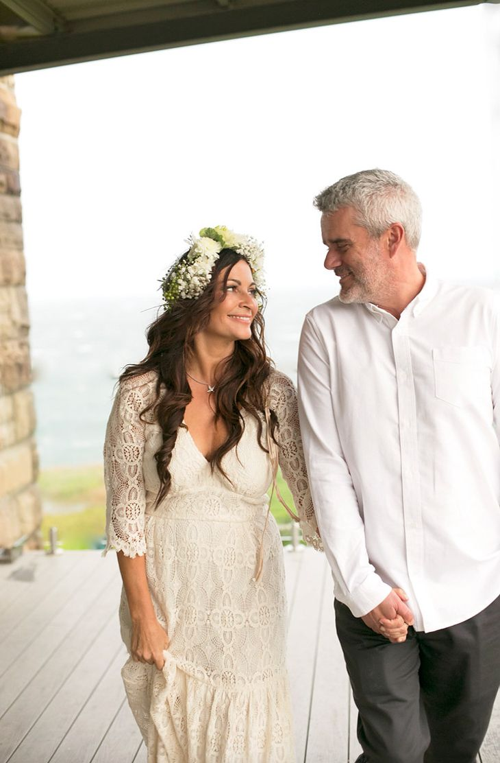 Lee Holmes and hubby Justin share their community minded ethical wedding