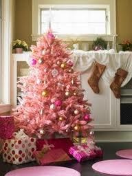 candy pinkHoliday, Christmas Time, Decor Christmas Trees, Pink Trees, Pretty Pink, Christmas Decorations, Pale Pink, Pink Christmas Trees, Gold Christmas