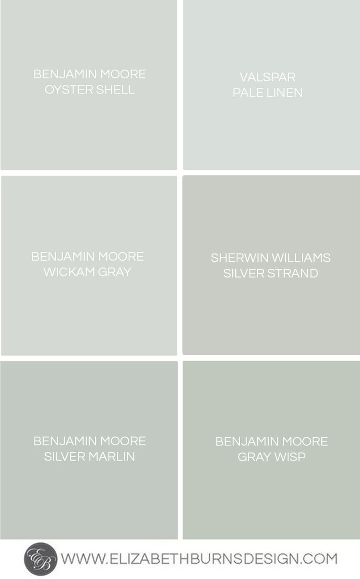 Gray Blue Green Shades
