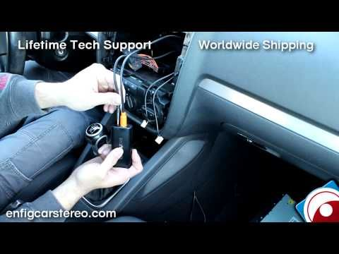 iPod AUX USB Bluetooth Guide Volkswagen Jetta 2006-2009 EnfigCarStereo.com