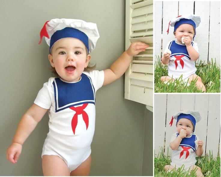 2pcs Infant Children Baby Girl Boy Clothes Toddlers Unisex Short Sailor Hat+Bodysuit Jumpsuit Ropa de Bebe Outfit #Affiliate