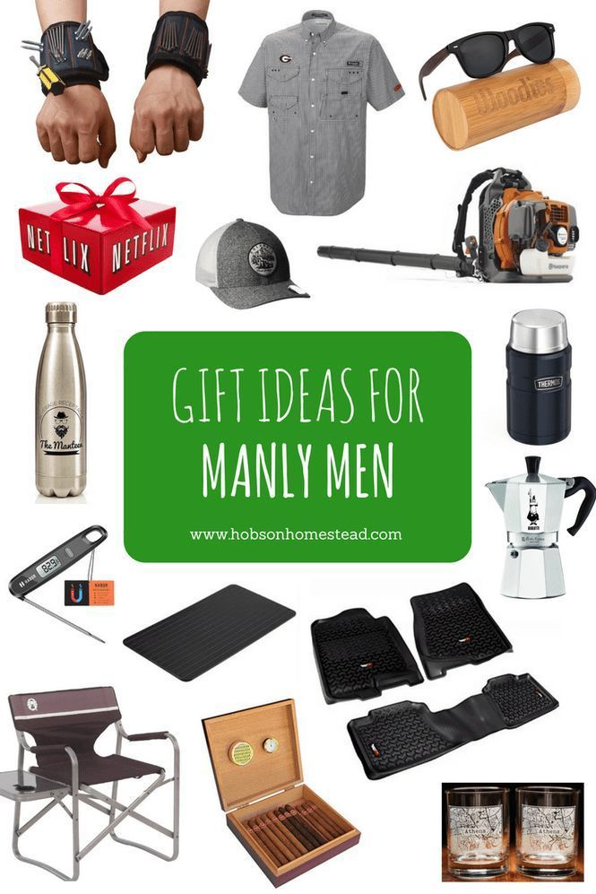 15 Gift Ideas for Manly Men Gift Ideas Pinterest Gifts