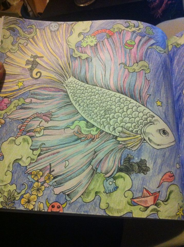 Animorphia Stress RelieverColoring BooksAdult