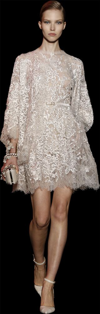 It's Coming! Designer Fashion Trends ELIE SAAB - Haute Couture - Fall Winter 2014-2015 Dress