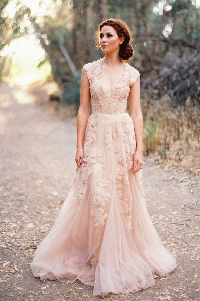 Abiti da sposa colorati: 5 alternative all'abito bianco   #weddingdresses #wedding