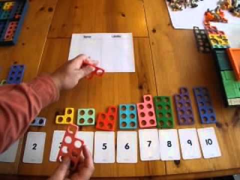 Numicon for Place Value - YouTube