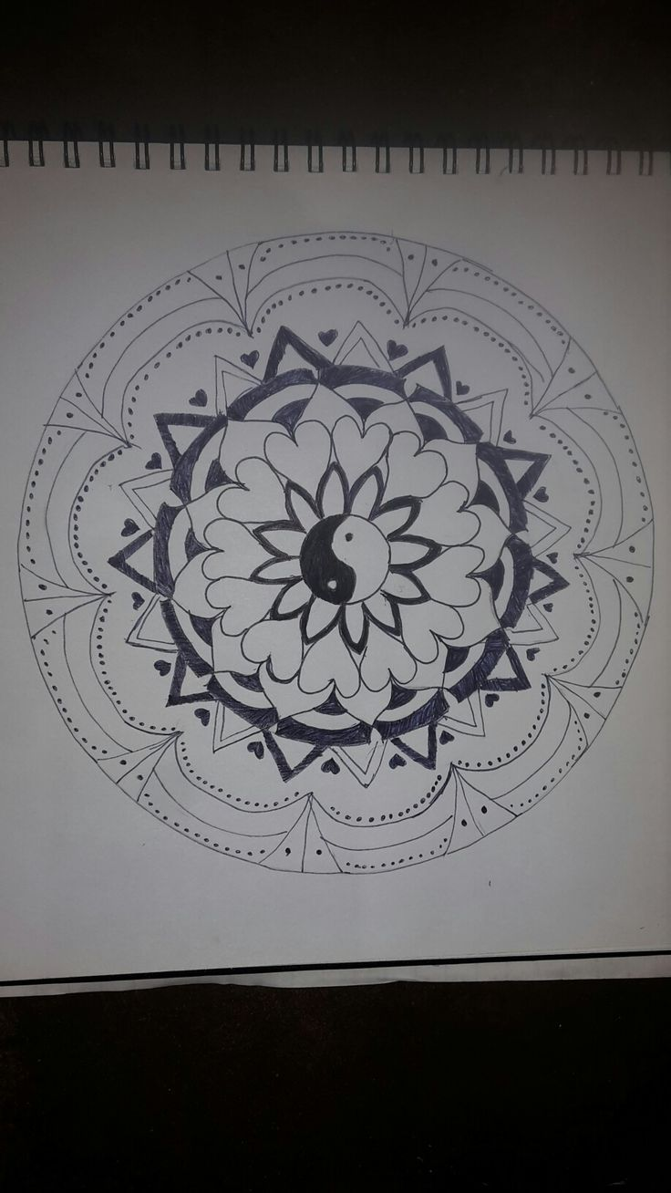 Jessica's Mandala for Art Class - Awesome xxx