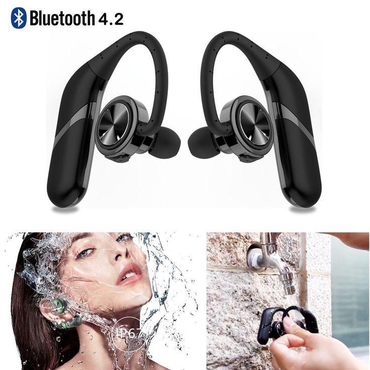 Bluetooth Headphones Stereo Headset True Wireless Sport Earbuds HIFI Handsfree #UnbrandedGeneric