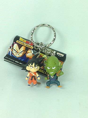 Goku Vs King Piccolo - Dragonball Z Kai Rival Battle Twin Figure Mascot Key Chain