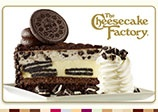 The Cheesecake Factory Gift Card https://thecheesecakefactory.cashstar.com/gift-card/plastic/