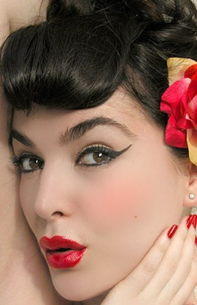 17 Best images about Pinup makeup on Pinterest | Classic ...