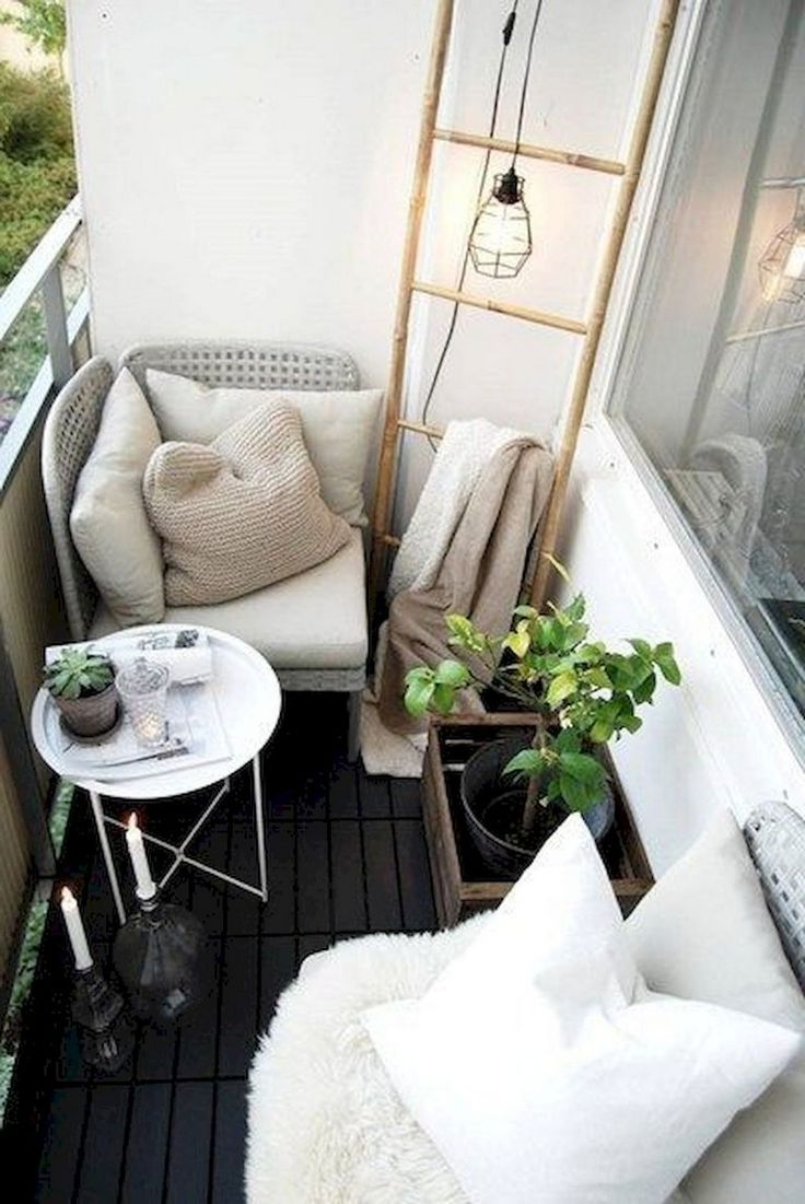 Einfaches hausfarbendesign draußen  inspiring smart balcony designs ideas with scandinavian  design