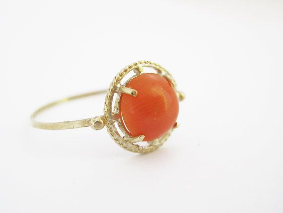 Coral ring...valentines day...anyone?
