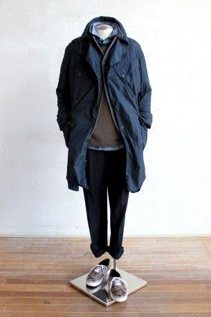 男人的冬季外套風格冊的建議