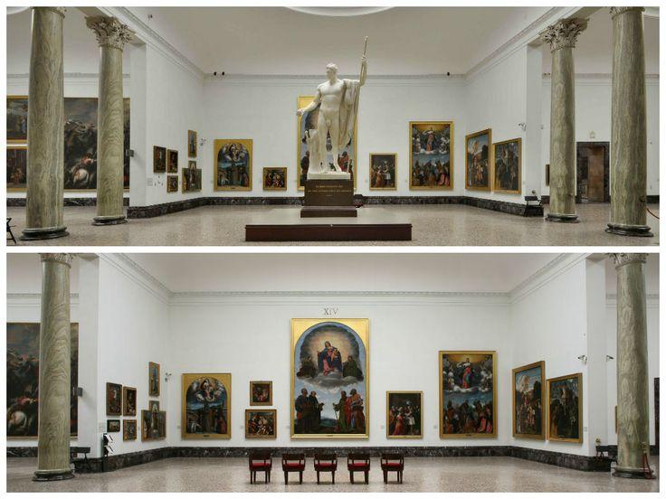Notate qualche differenza? Preferite la sala con o senza Napoleone? #NBTWart #MiBACTsocial #NBTW
