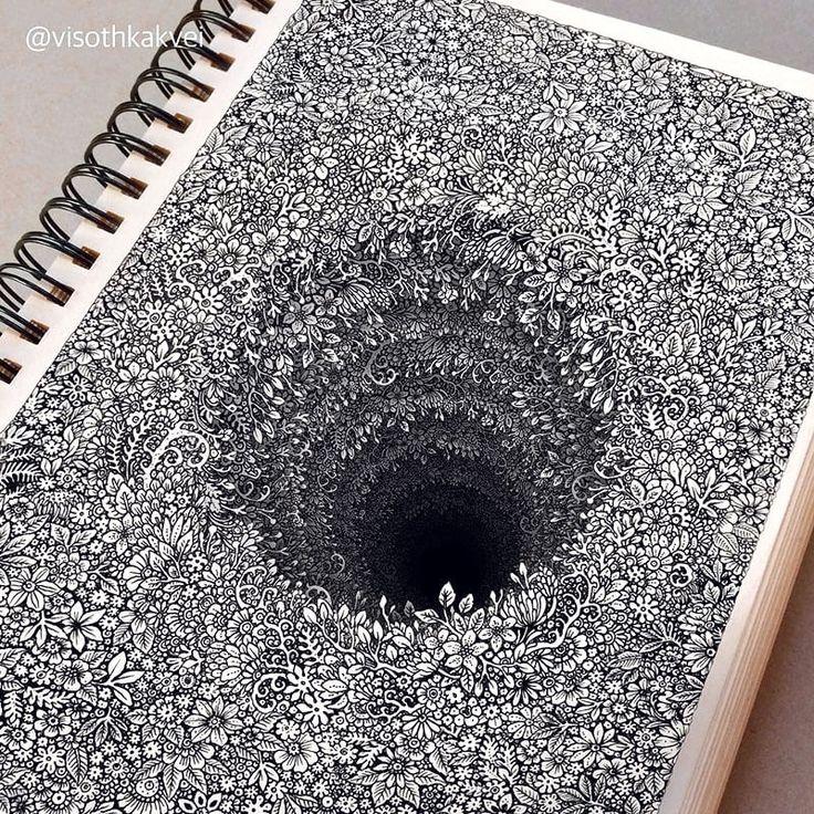 doodle art 3D
